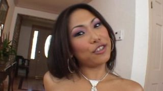 Good Having A Look Chinese Ultra-cutie Veronica Lynn Will Get Jaws Boned By Way Of A Gigantic Rod