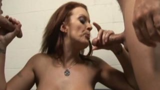 Monica Mayhem Is Helping Those 2 Rock Stiff Jizz-shotguns Jism
