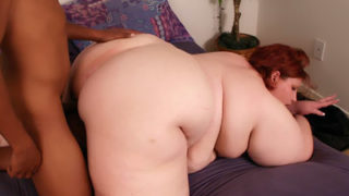 Meaty Backside Bbw Does Multiracial