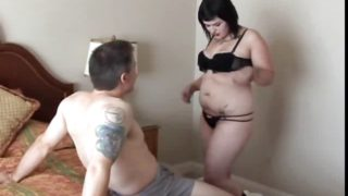 Adorable Obese Emo Candi Likes A Gooey Facial Cumshot Pop-shot