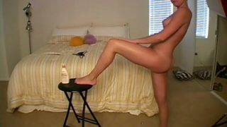 Corrupting Teenager Nymphet Jessie Creaming Her Brilliant Bod In Bed Room