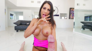 Muddy-conversing Makayla's Knocker Internal Ejaculation